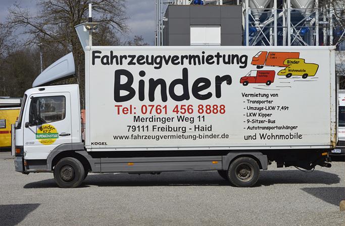 fahrzeugvermietung binder vermietung von transporter lkw und wohnmobil und bagger in freiburg. Black Bedroom Furniture Sets. Home Design Ideas